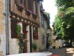 The ancient town of Bergerac