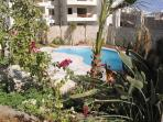 With own pool and secure gated garden