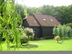View of the Barn from Wellrose Garden