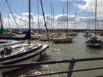 The Titchfield Sailing Club... 3 minute walk from Still Waters.