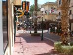 Saint Anthony Street with cafes & restaurants within walking distance.