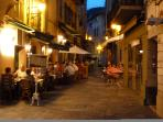Villefranche alley restaurants