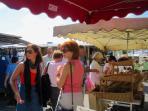 Local market held twice a week