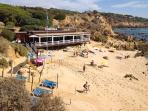 A Sardinha restaurant Arrifes beach