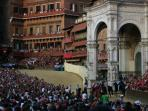 World famous Siena Palio, July & August