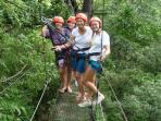 Zip Line through the canopy