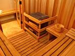 SAUNA FOR 8-10 PEOPLE.