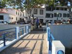 Bar Barreorinha e entrada para a praia