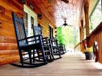 Enjoy Smokey Mountain Breezes On the Porch