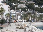 Javea's chic beachfront