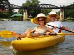 Kayaking on the River Kwai