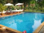 Our Pool 25 meters from Villa