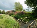 Bridge to the secret garden