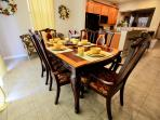 Dinning room with high chair