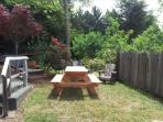 Nice picnic and sitting area