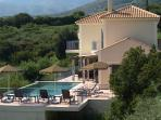 Villa Louloudia with private pool and patio