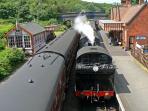 Steam railway at Weybourne