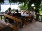 Dining in Orebic