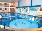 Indoor pool, part of the leisure facilities at Penstowe