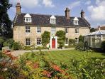 The luxurious Incleborough House near Sheringham