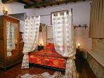 The romantic bedroom