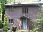 Mountain Memories is a unconventional tree house on 6 acres, near the Parkway