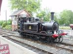 Days out - Kent and East Sussex Railway Engine