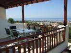 Mediterranean Sea from the balcony