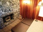 Mammoth Lodging | Mammoth West #138 | Alcove Fireplace