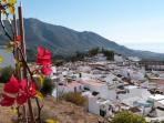 A few minutes drive inland and your into the beautiful spanish countryside