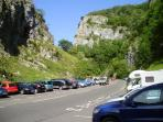 Cheddar Gorge in all its splendor