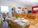 Open plan living is great for all the family and friends