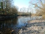 The River Severn from our fields