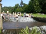 Children of all ages love the Cascade at Chatsworth House