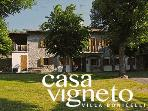 Casa Vigneto is a substantial house that's perfect for families or small groups