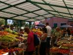 Market, 200m from the apartment.