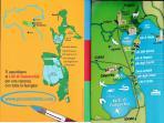 cartina geografica dei lidi ferraresi tra mare e laghi