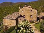 Views of the hamlet of Borgo di Vagli