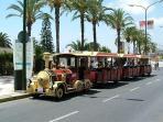 Torrevieja tourist Train, worth a trip around town