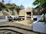 Beautiful, peaceful enclosed and private courtyard