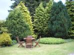 Garden to rear.