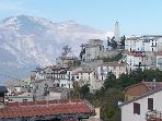 Typical mountain town 1000m above sea level with spectacular views to the Adriatic.
