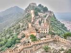 The historic Xativa castle, a wonderful sight seeing trip
