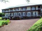 L'Anse aux Epines House front exterior