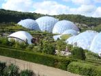 The Eden Project, a 30 minute drive.