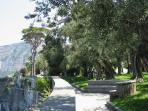 Piano di Sorrento - Villa Fondi (Public Villa) 15 minutes walk from the apartment.