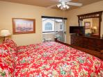 Fit for a KING size bed w/plenty of elbow room!