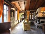 The indoor living area