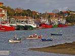 Entorno/Localidad. Puerto pesquero de San Vicente de la Barquera.