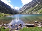 Lac de Gaube, 90 mins hike from Pont D'Espagne